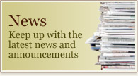 News - Keep up with the latest news and announcements